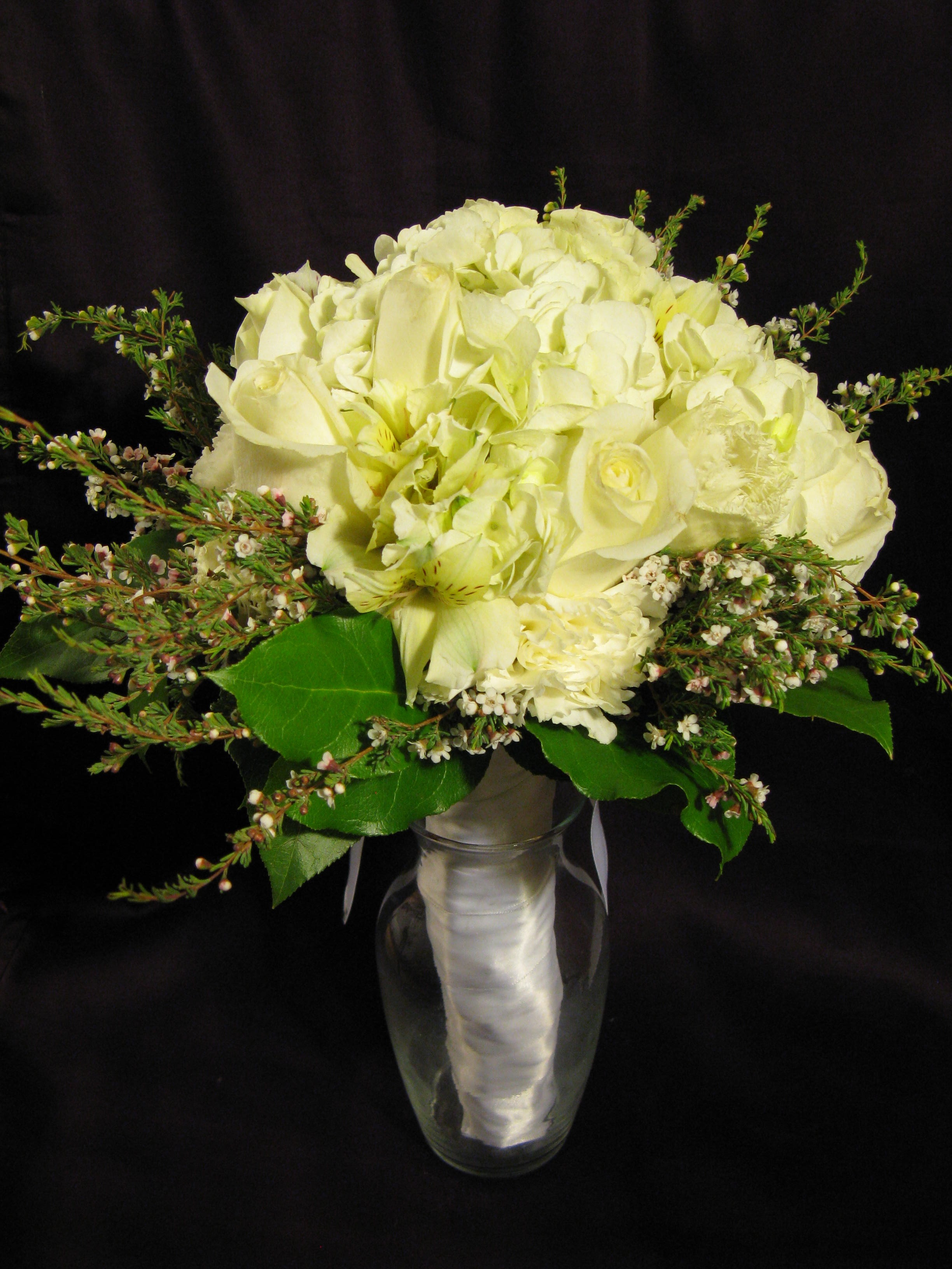 Elegant Hand-Tied Bouquet